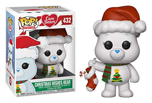 Christmas Bear Wish (Funko POP! Animation: Care Bears - Christmas Wishes Bear #432 Shop's [2018] 12 Days of Christmas Exclusive!)