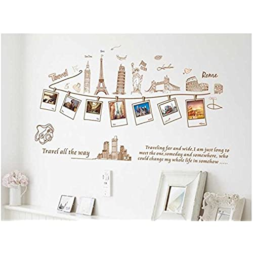 Good ... Leaning Tower Of Pisa Colosseum Statue Of Liberty Removable Wall  Stickers Wall Decorations Wall Art Kids Room Bedroom Decor Living Room Art  Decals