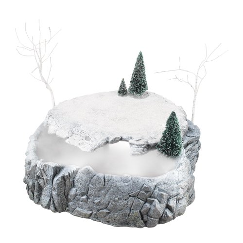 Department 56 Accessories for Villages Misty Point Platform Animated Accessory Figurine, 16.5'' by Department 56