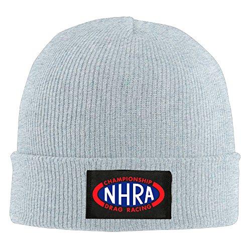 SOOSU Unisex NHRA Race Beanie Hat Ash