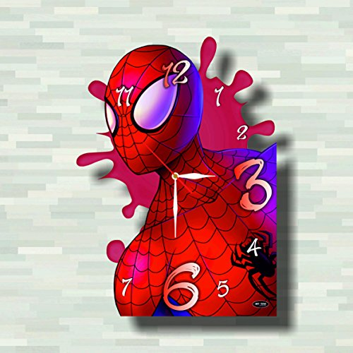 Costume Man 2099 Spider The Amazing (Spiderman 11.8'' Handmade Wall Clock - Get unique décor for home or office – Best gift ideas for kids, friends, parents and your soul)
