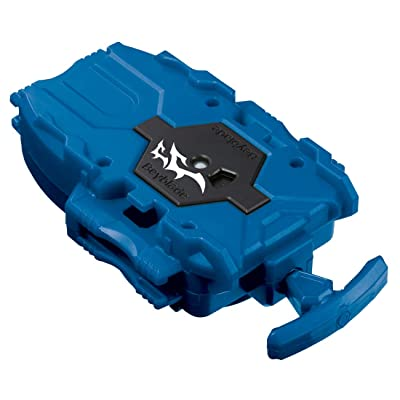 Beyblade Burst B-137 Long Bay Launcher Clear Blue: Toys & Games