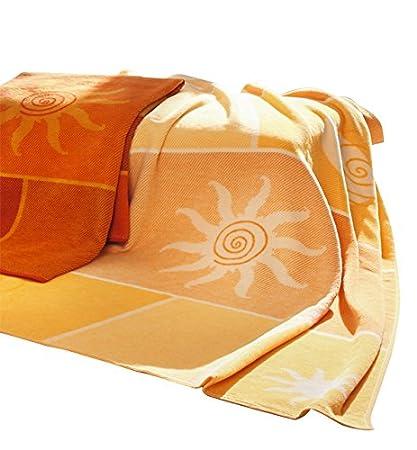 Amazon.com  Biederlack Collection Sunburst Throw Blanket cb5c5103d8226
