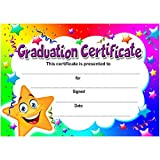 Graduation Certificate | A6 Pack of 20 | Ideal for Nurseries Schools Kids Clubs | 200gsm Gloss Quality Cards