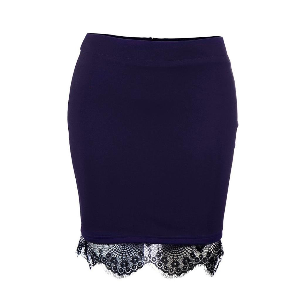 FNKDOR Falda del Patinador del Verano de Las se/ñoras Mini Falda del Coctel del Partido de Las Mujeres