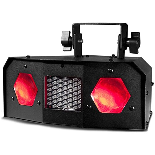 American DJ Dual Gem Pulse IR Tri Color RGBW Sound Active LED MoonFlower by American DJ