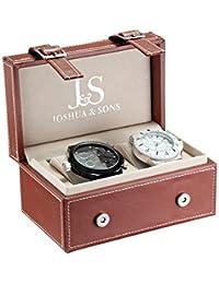 Joshua & Sons Men's JS-46-02 Watch Set