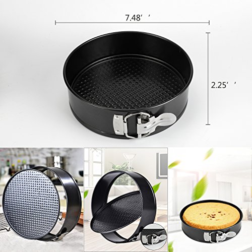 6 PACKS Instant Pot Accessories Steamer Basket Steamer Sets Steamer Base Springform Pan Egg Steamer Rack Silicone Oven Mitts Plate Dish Clip for Pressure Cooker Cooking Pot Steamer Pot Pan 4 5 6 8 qt by STEAMER-6 (Image #3)