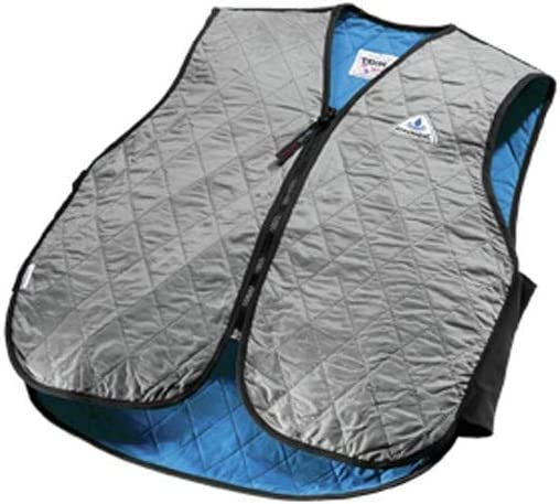 HyperKewl Evaporative Cooling Sport Vest, Silver, Small