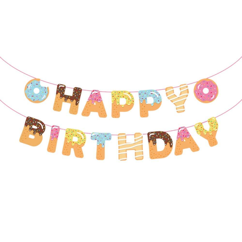 Tea themed Birthday Banner