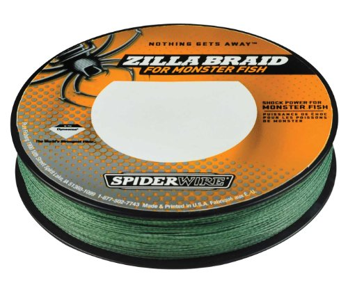 Spiderwire zilla braid fishing line 40 pound test 300 for Fishing line test