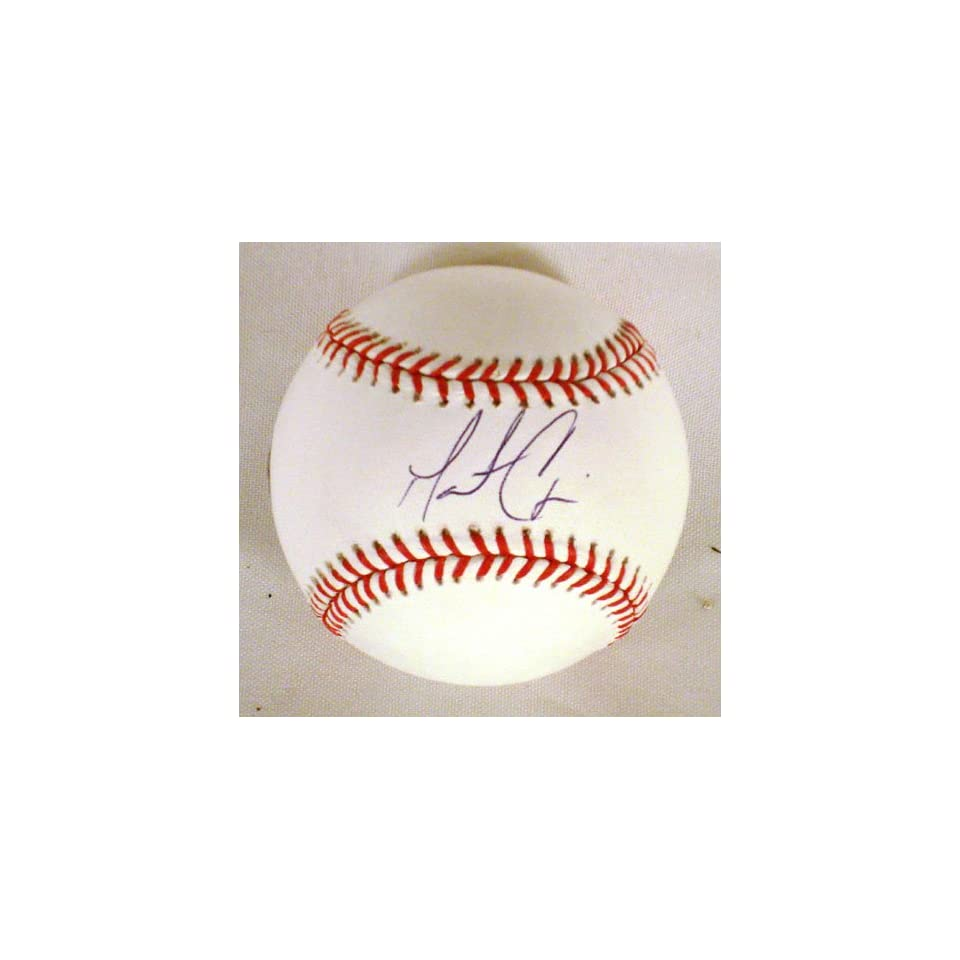 Matt Cain Hand Signed Autographed San Francisco Giants Official Major