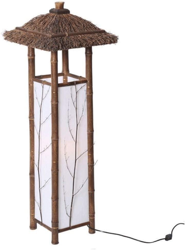 Lámparas de Pie Lámpara de Piso Luz de Pie Estilo Vintage Japón ...