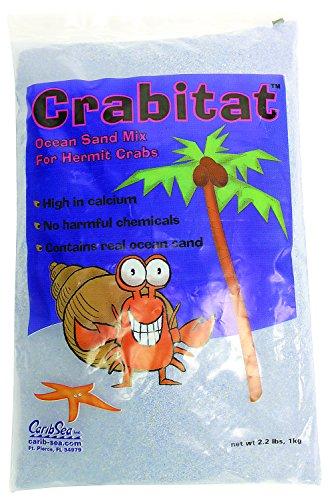 Caribsea SCS00605 Crabitat Hermit Crab Sand, 2.2-Pound, Blue by Carib Sea