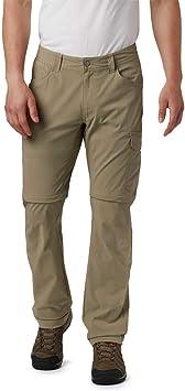 Columbia Silver Ridge Pantal/ón Convertible el/ástico para Hombre protecci/ón Solar UPF 50