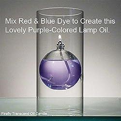 Firefly Modern Transcend Clear Glass Oil Lamp Gift