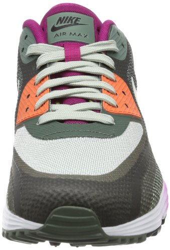 Nike Air Max Lunar90 C3.0 Los Zapatos Corrientes De Las Mujeres Zapatillas De Deporte Negro 631762-003 / S Mica Aerosol Oscuro Magenta Brillante Barato Venta Mejores precios FKHT5CG7