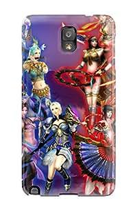 New Style LeeJUngHyun Sexy Fantasy Busty Anime Girl Woman Ecchi Big Warrior Original Premium Tpu Cover Case For Galaxy Note 3