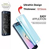 Galaxy S6 Edge Screen Protector [Full Coverage] ,iVoler [2-Pack] [3D Full Curved Edge] [No Bubble] [Ultra Clear] Premium PET Film Screen Protector for Samsung Galaxy S6 Edge,