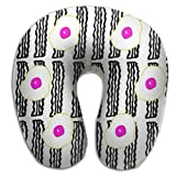 Scorpio Bacon And Eggs Lightweight Travel Pillow Spa U SHAPE For Flying People