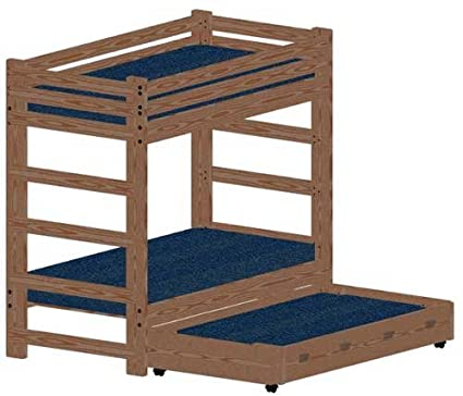Bunk Bed Diy Woodworking Plans To Build A Twin Over Twin Extra Tall