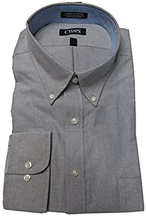 Chaps men 39 s classic fit oxford shirt size 18 18 1 2 36 37 for 18 36 37 shirt size