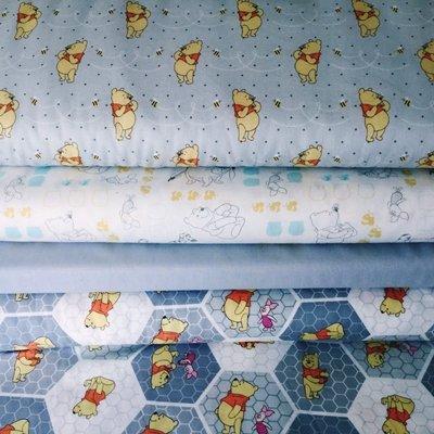 Disney Pooh bees and hunny  fabric Fat Quarter