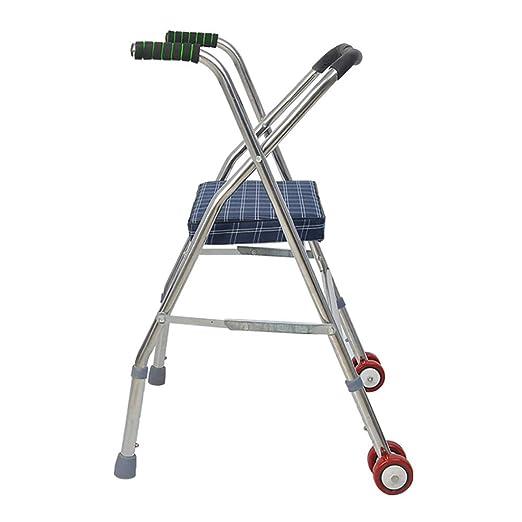 Andadores Ancianos ROMX-Caminante/Caminador Plegable/Bastidor para ...