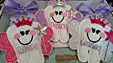 Personalized Tooth Fairy Pillow~ Princess Tooth Fairy Pillow with Crown and Wand