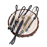 FOOMEXT EDC Knife Lanyards with Bead – WESTWILD Handcrafted Lanyards Pendant for Pocket Knife/Outdoor Gear/Zipper Pulls/Survival Key-Chain