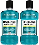 Listerine Antiseptic Mouthwash, Cool Mint - 33.8 oz - 2 pk