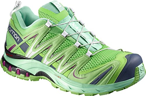 Chaussures de purple Femme tonic Salomon Trail 3D Pro lucite green mystic XA green WnqRn1B