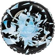 """JOYIN 47"""" Inflatable Snow Tube, Heavy-Duty Snow Tube for Sledding, Great Inflatable Snow Tubes for Winter Fun"""