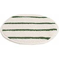 Renown REN02657 Carpet Bonnet Pad, Striped Blend 5/CS, 17