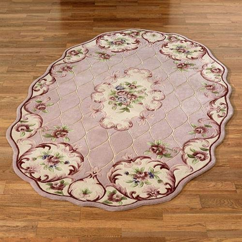 - Marquis Floral Oval Rug