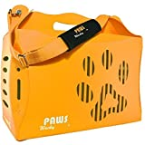 Wacky Paws ECO Pet Carrier, V1, Small, Orange