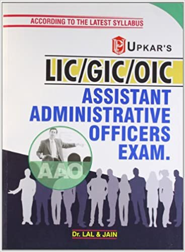 L.I.C./G.I.C./O.I.C. A.A.O. Assistant Administrative Officers Exam 01 Edition price comparison at Flipkart, Amazon, Crossword, Uread, Bookadda, Landmark, Homeshop18