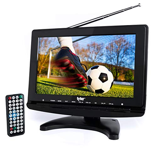 "Tyler TTV706 10"" Portable Widescreen 1080P LCD TV with Detachable"