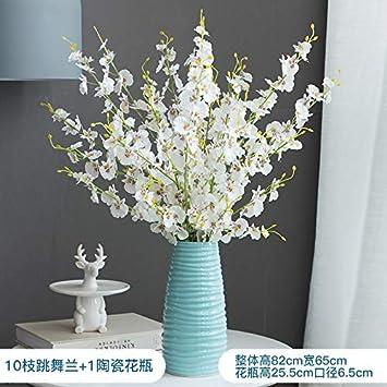 Powzz ornament Decorativa Interior Flor De Imitación De Orquídea ...