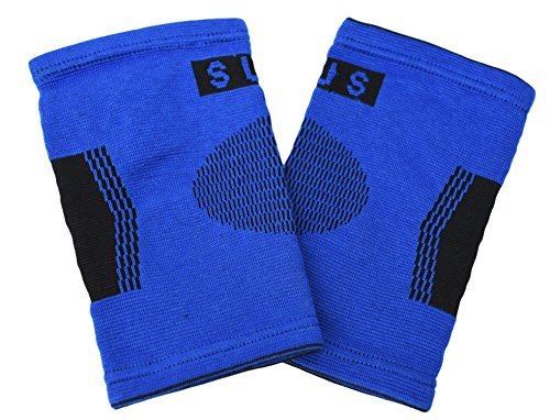 2 Professional Elbow Support Sleeves By Susama - Large / X-large Size - #1 Compression Wraps, Tendonitis Brace for Pain Relief & Muscle Recovery. For Tennis, Golf, Exercise and Other Sports