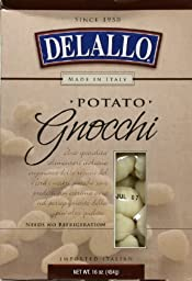 DeLallo Potato Gnocchi 16.0 OZ (Pack of 3)