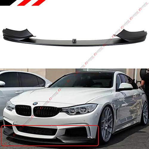 - Performance Style Front Bumper Lip Spoiler Splitter Fits for 2014-2019 BMW F32/F36/F33 4 Series With M Sport Bumper