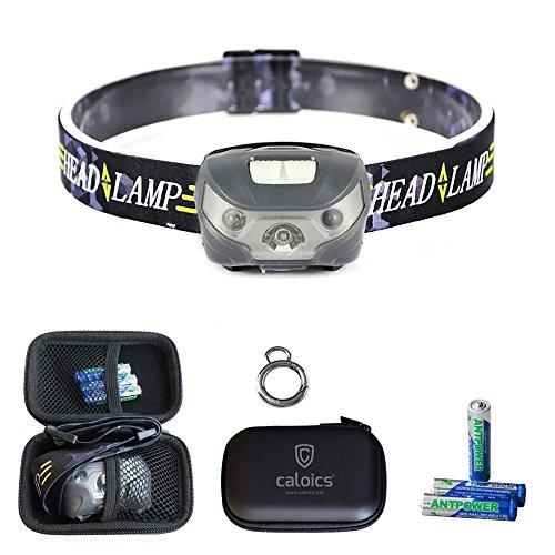 090e7b15c43ccd CREE LED Headlamp Caloics USB Rechargeable Bright Flashlight for Hunting,  Camping, Night Fishing,