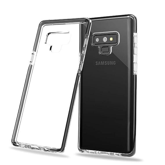 uk availability 4b3ae 47a22 Amazon.com: SHARKSBox Galaxy Note 9 Case,Slim Soft TPU Note 9 Cover ...