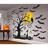 Fiesta de Halloween Kit de decoración gótica respetuoso del medio ambiente