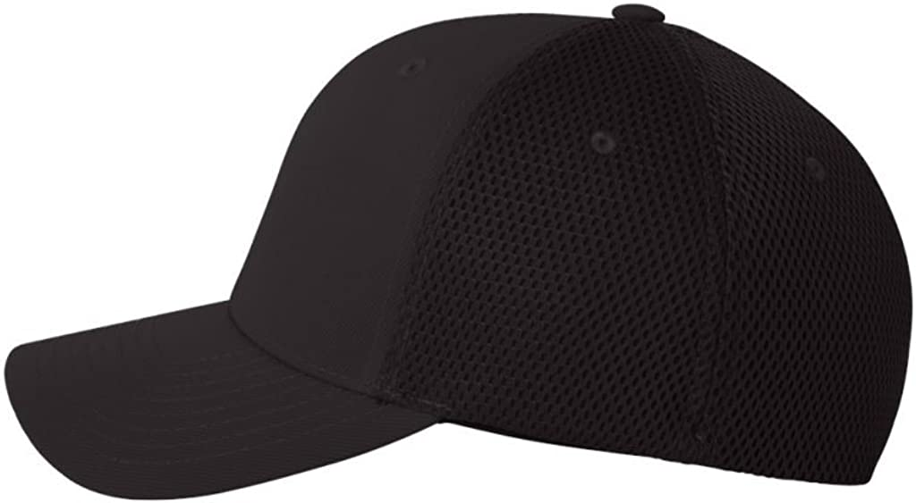 Flexfit Structured Mid-Profile Ultrafiber Cap with Air Mesh Sides (Assorted Colors)