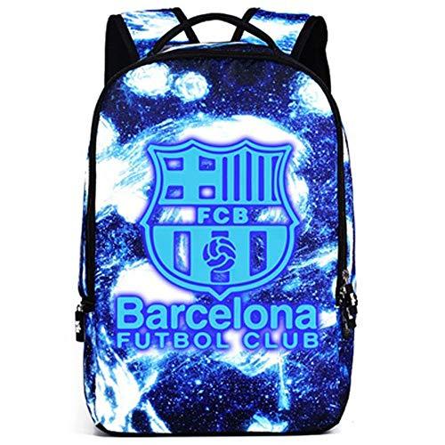 Da Football blu Star Q Scolastico Ragazze Scolastica Per Viaggio Borsa Unisex Laptop Adolescenti Ragazzi Luminosa Sjymkyc Zaino qxUttf