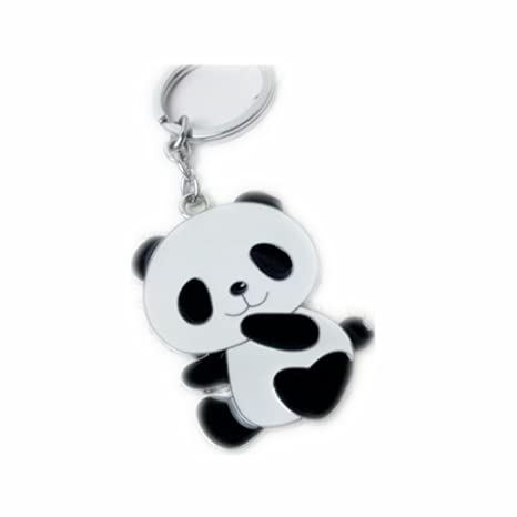 Amazon.com: 1 x Panda de chino de llavero de metal llavero ...