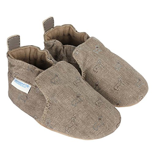 sizes: months, months, months, months Bring a nice formal look to your little one's style with the Soft Soles Special Occasion Shoe from Robeez. This leather shoe features tonal stitching and faux white laces that make it perfect for fancy days.