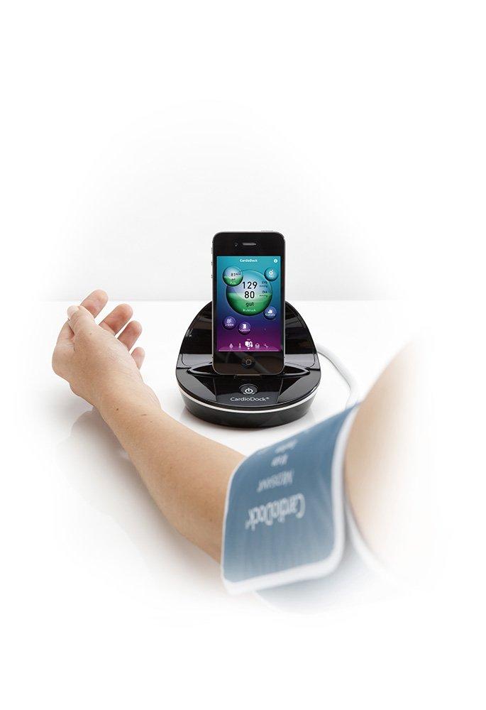 Medisana Cardiodock 2 - Módulo para la medición de la tensión para iPhone, iPad o iPod Touch: Amazon.es: Salud y cuidado personal